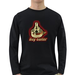 Buy Guitar(knb)  Men s Long Sleeve T Shirt (dark Colored) by goodmusic