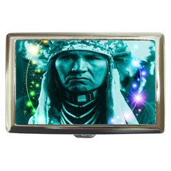 Magical Indian Chief Cigarette Money Case by icarusismartdesigns