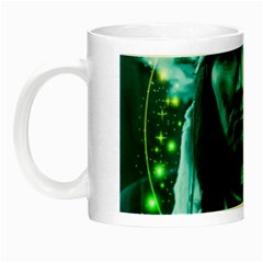 Magical Indian Chief Glow In The Dark Mug by icarusismartdesigns