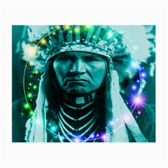 Magical Indian Chief Glasses Cloth (small) by icarusismartdesigns