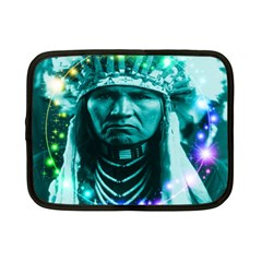 Magical Indian Chief Netbook Sleeve (small) by icarusismartdesigns