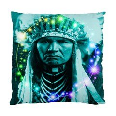 Magical Indian Chief Cushion Case (two Sided)  by icarusismartdesigns