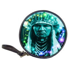Magical Indian Chief Cd Wallet by icarusismartdesigns
