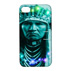 Magical Indian Chief Apple Iphone 4/4s Hardshell Case With Stand by icarusismartdesigns