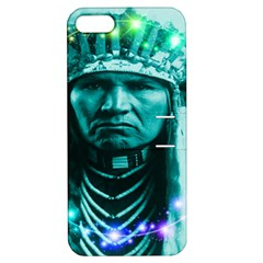 Magical Indian Chief Apple Iphone 5 Hardshell Case With Stand by icarusismartdesigns