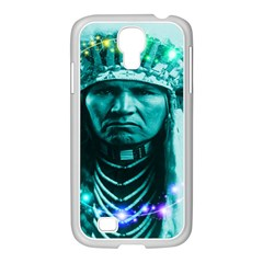 Magical Indian Chief Samsung Galaxy S4 I9500/ I9505 Case (white) by icarusismartdesigns