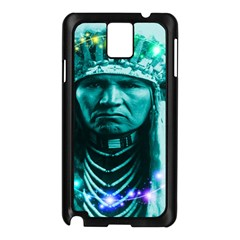 Magical Indian Chief Samsung Galaxy Note 3 N9005 Case (black) by icarusismartdesigns
