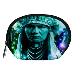 Magical Indian Chief Accessory Pouch (medium) by icarusismartdesigns
