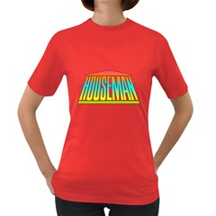 Colorful Houseman Women s T Shirt (colored)