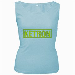 Ketron Synthesizer Yellow Women s Tank Top (baby Blue) by goodmusic