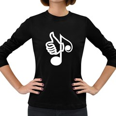 Like Music Women s Long Sleeve T Shirt (dark Colored) by goodmusic