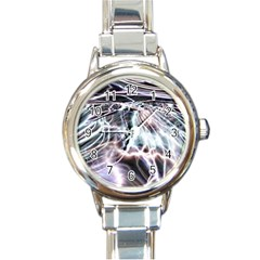 Solar Tide Round Italian Charm Watch by icarusismartdesigns