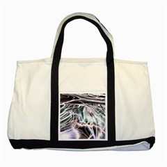 Solar Tide Two Toned Tote Bag by icarusismartdesigns