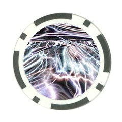 Solar Tide Poker Chip by icarusismartdesigns