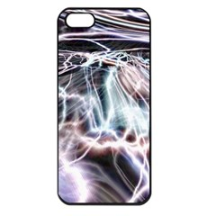 Solar Tide Apple Iphone 5 Seamless Case (black) by icarusismartdesigns