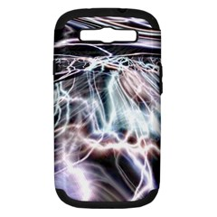 Solar Tide Samsung Galaxy S Iii Hardshell Case (pc+silicone) by icarusismartdesigns