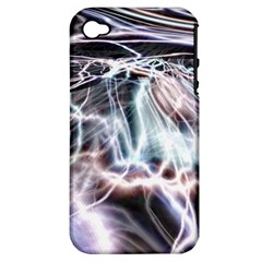 Solar Tide Apple Iphone 4/4s Hardshell Case (pc+silicone) by icarusismartdesigns