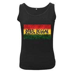 Rebel Reggae Women s Tank Top (black)