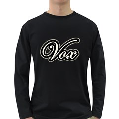 Vintage Vox Amp Wonderful Men s Long Sleeve T Shirt (dark Colored) by goodmusic