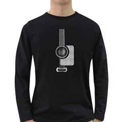 Guitar Gwb Parts Men s Long Sleeve T Shirt (dark Colored) by goodmusic