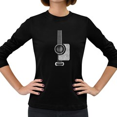 Guitar Gwb Parts Women s Long Sleeve T Shirt (dark Colored) by goodmusic