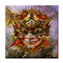 Star Clown Ceramic Tile by icarusismartdesigns