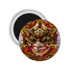 Star Clown 2 25  Button Magnet by icarusismartdesigns