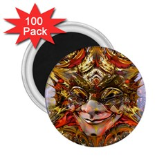 Star Clown 2 25  Button Magnet (100 Pack) by icarusismartdesigns