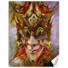 Star Clown Canvas 12  X 16  (unframed) by icarusismartdesigns