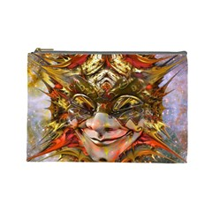 Star Clown Cosmetic Bag (large) by icarusismartdesigns