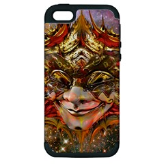 Star Clown Apple Iphone 5 Hardshell Case (pc+silicone) by icarusismartdesigns