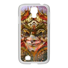 Star Clown Samsung Galaxy S4 I9500/ I9505 Case (white) by icarusismartdesigns