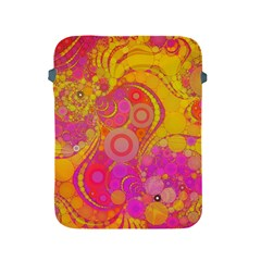 Super Bright Abstract Apple Ipad Protective Sleeve by OCDesignss