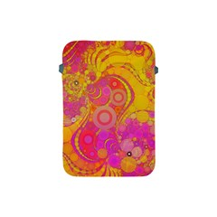Super Bright Abstract Apple Ipad Mini Protective Sleeve by OCDesignss