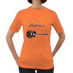 Ibanez Electric Guitars Women s T-shirt (colored)