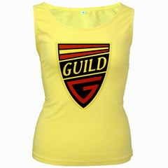 Guild Guitars (vt) Women s Tank Top (yellow) by goodmusic