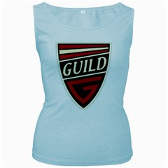 Guild Guitars (vt) Women s Tank Top (baby Blue) by goodmusic