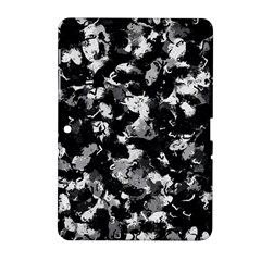 Shades Of Gray  And Black Oils #1979 Samsung Galaxy Tab 2 (10 1 ) P5100 Hardshell Case  by Khoncepts