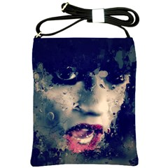 Abstract Grunge Jessie J Shoulder Sling Bag by OCDesignss