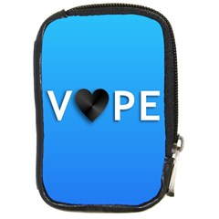 Vape Heart  Compact Camera Leather Case by OCDesignss