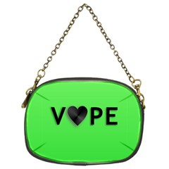 Vape Heart Chain Purse (two Sided)  by OCDesignss