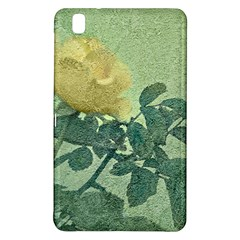 Yellow Rose Vintage Style  Samsung Galaxy Tab Pro 8 4 Hardshell Case by dflcprints