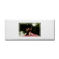 Tiger Woods Png Hand Towel by Cordug