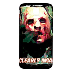 Bloody Face  Samsung Galaxy S5 Back Case (white)