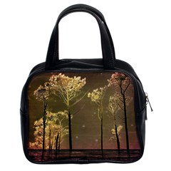 Fantasy Landscape Classic Handbag (two Sides) by dflcprints