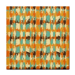 Shredded Abstract Background Tile Coaster by LalyLauraFLM