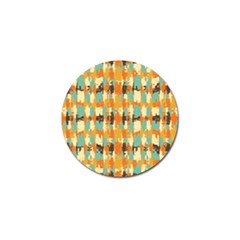 Shredded Abstract Background Golf Ball Marker (10 Pack) by LalyLauraFLM