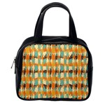 Shredded abstract background Classic Handbag (One Side) Front