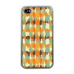 Shredded Abstract Background Apple Iphone 4 Case (clear) by LalyLauraFLM