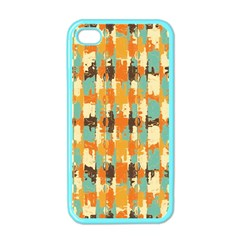 Shredded Abstract Background Apple Iphone 4 Case (color) by LalyLauraFLM